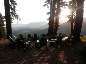 camp morning echo lake